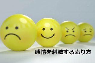 感情を刺激する売り方
